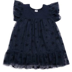 Egg dress by Susan Lazar evelyn navy Tulle size 7